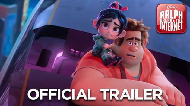 #RalphBreaksTheInternet - Trailer 3