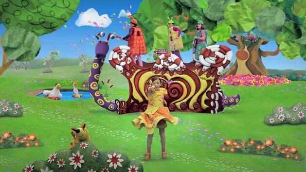 Disney junior videos disneylatino for Cancion el jardin de clarilu