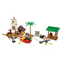 Mickey Mouse and Friends Pirates of the Caribbean Figurine Play Set