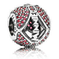 Image of Minnie Mouse ''Minnie's Sparkling Bow'' Charm by PANDORA # 1