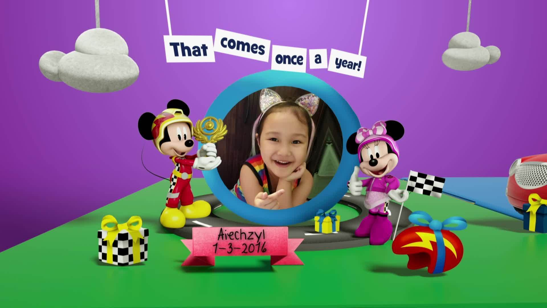 Disney Junior Birthday Book 2021 March Album 3