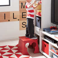 Image of Mickey Mouse Cheers for Ears Stool by Ethan Allen # 7