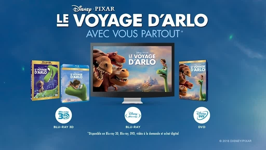 Le Voyage d'Arlo – Sortie DVD 1