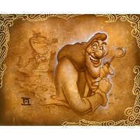 Image of Captain Hook ''Never Smile'' Giclée by Noah # 1