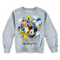 Mickey and Friends Peek-a-Boo Sweatshirt for Kids - Walt Disney World