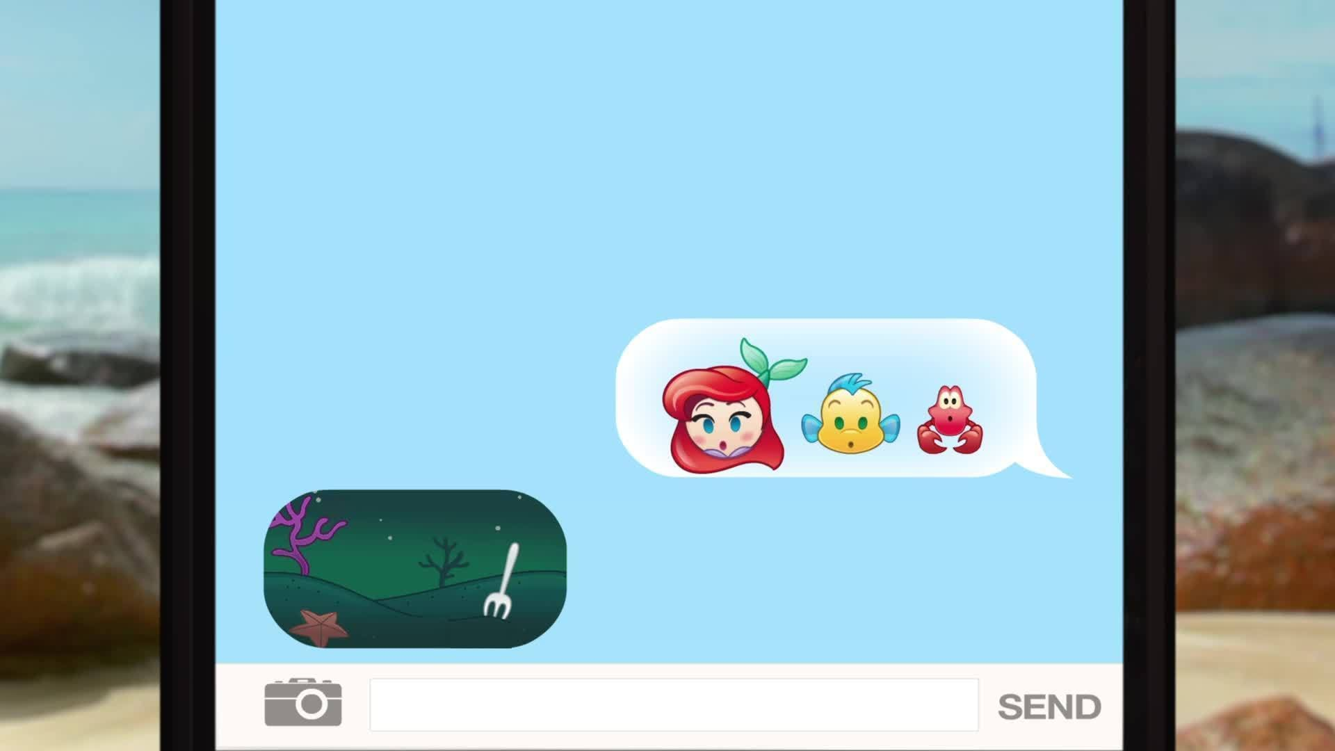 The Little Mermaid As Told By Emoji
