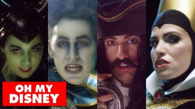 One Republic's Counting Stars feat. Disney Villains - Oh My Disney
