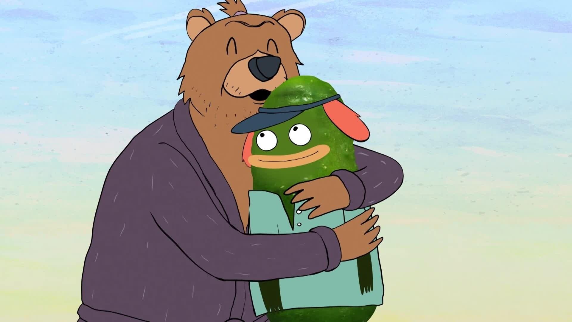 Augurk & Pinda - Gestoorde beer