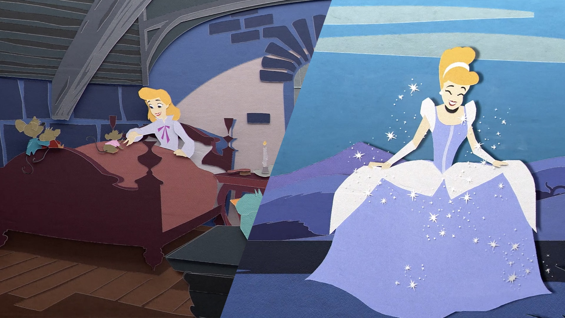 Cinderella Retold in Paper Art | Disney