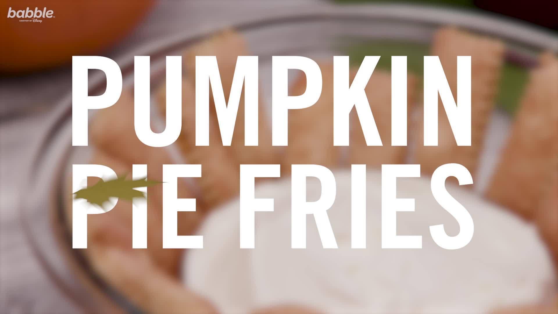 Pumpkin Pie Fries | Babble Eats