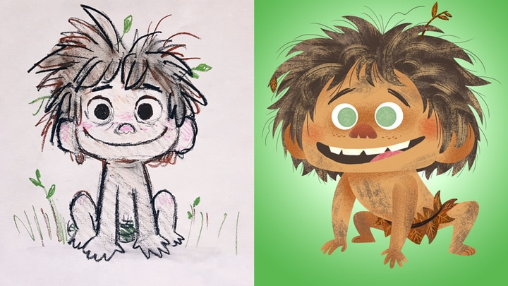 How to Draw Spot from Good Dinosaur | Disney Insider