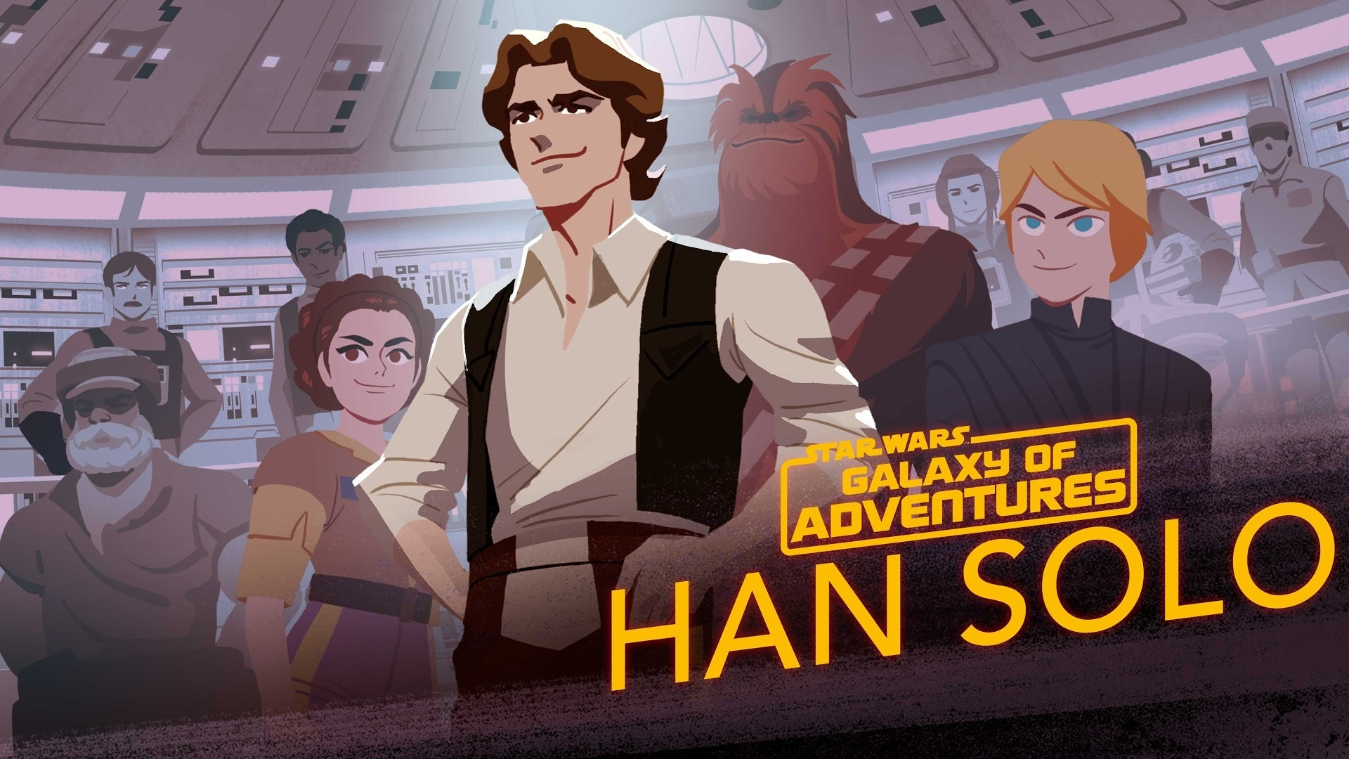 Han Solo - From Smuggler to General | Star Wars Galaxy of Adventures