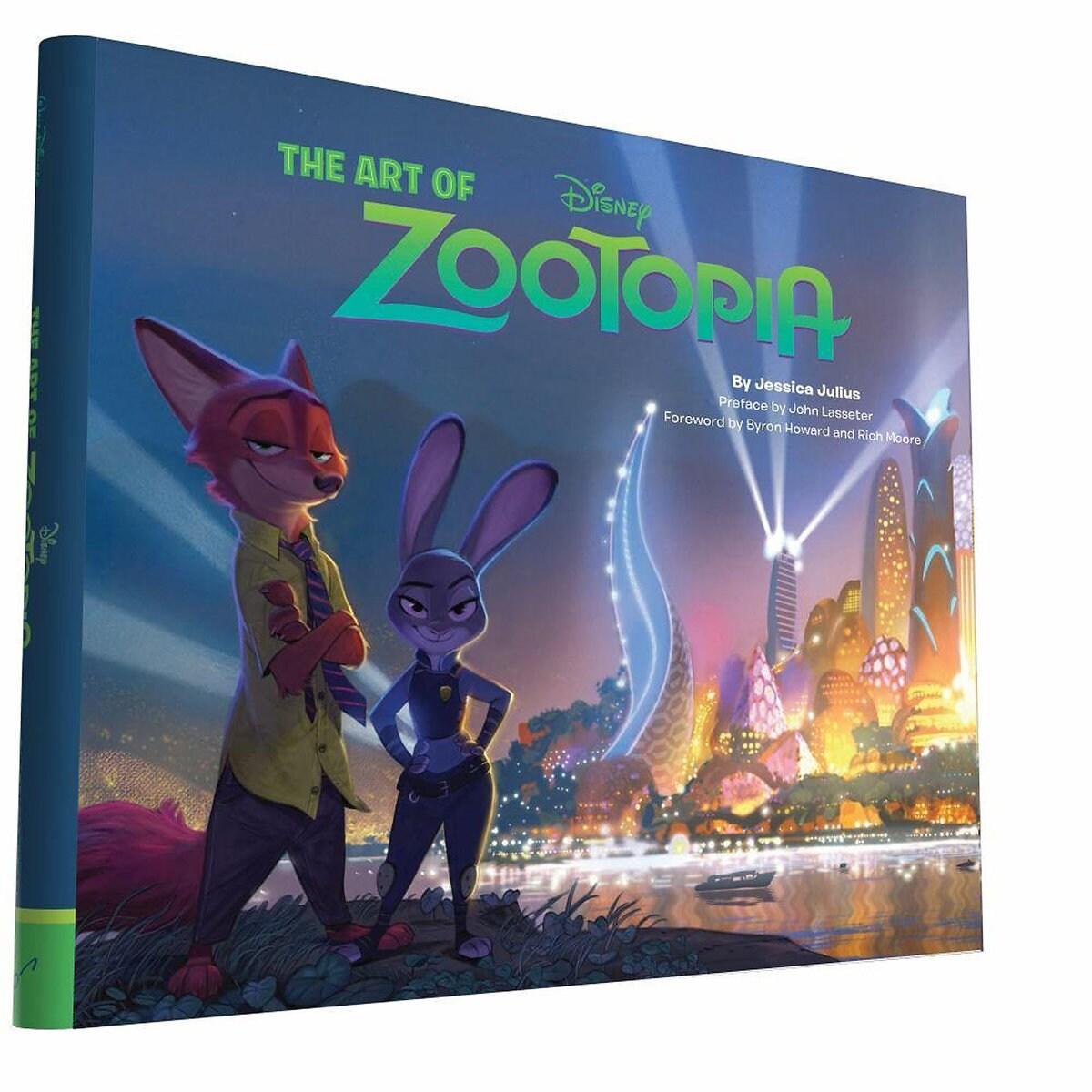 the art of zootopia book shopdisney