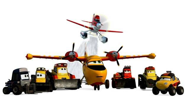 Summer Cool Down - Planes: Fire & Rescue
