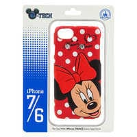 Image of Minnie Mouse Leather iPhone 7/6 Case # 2