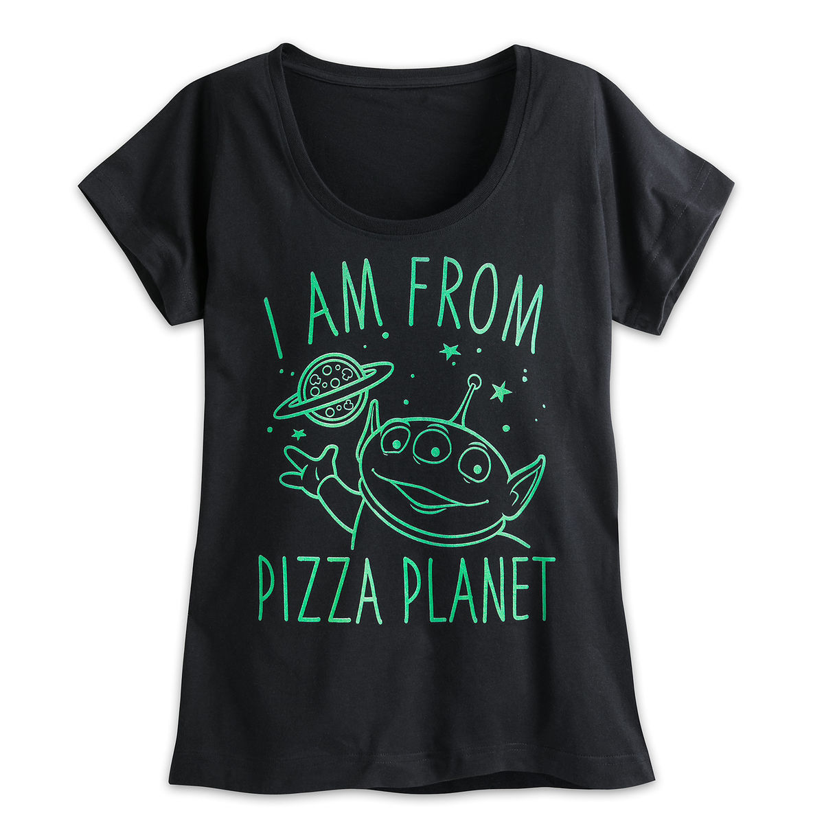 Product Image of Alien Pizza Planet Tee for Women - Toy Story   1 c38b5082f7