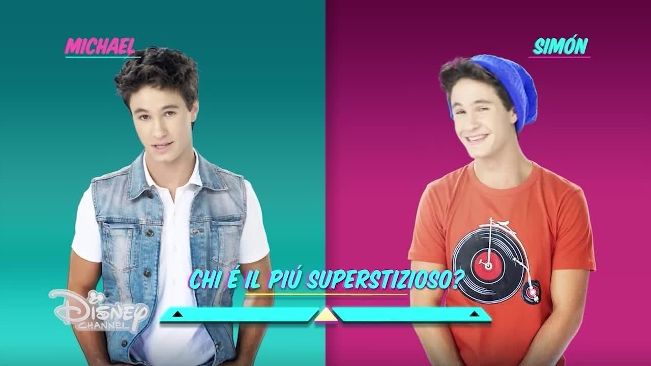 Soy Luna - Michael vs Simon
