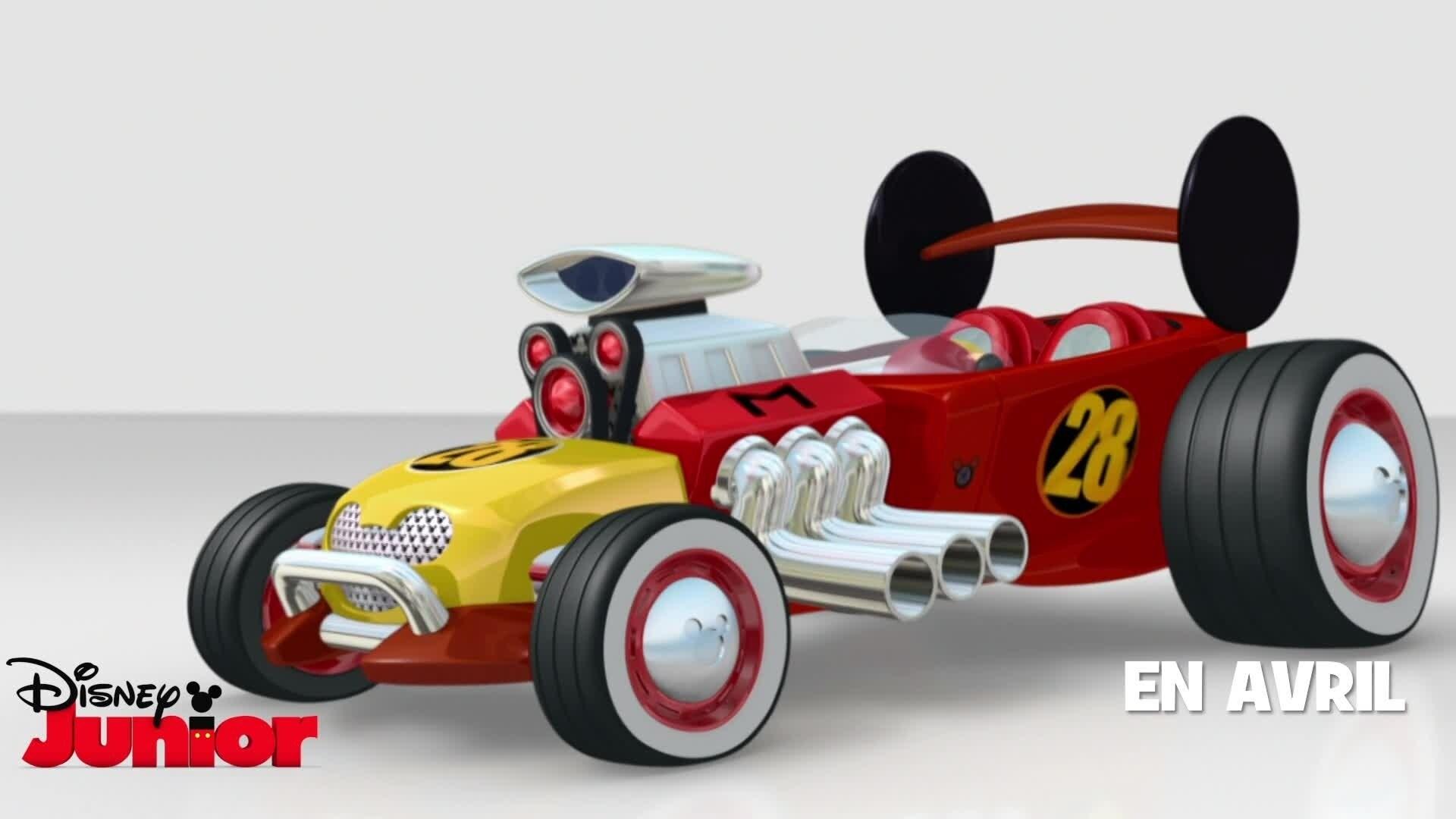 La turbo-toon-mobile de Mickey