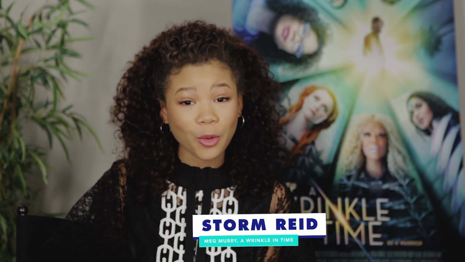 """Storm Reid From A Wrinkle in Time Takes the """"Which Disney Heroine Are You?"""" Quiz 