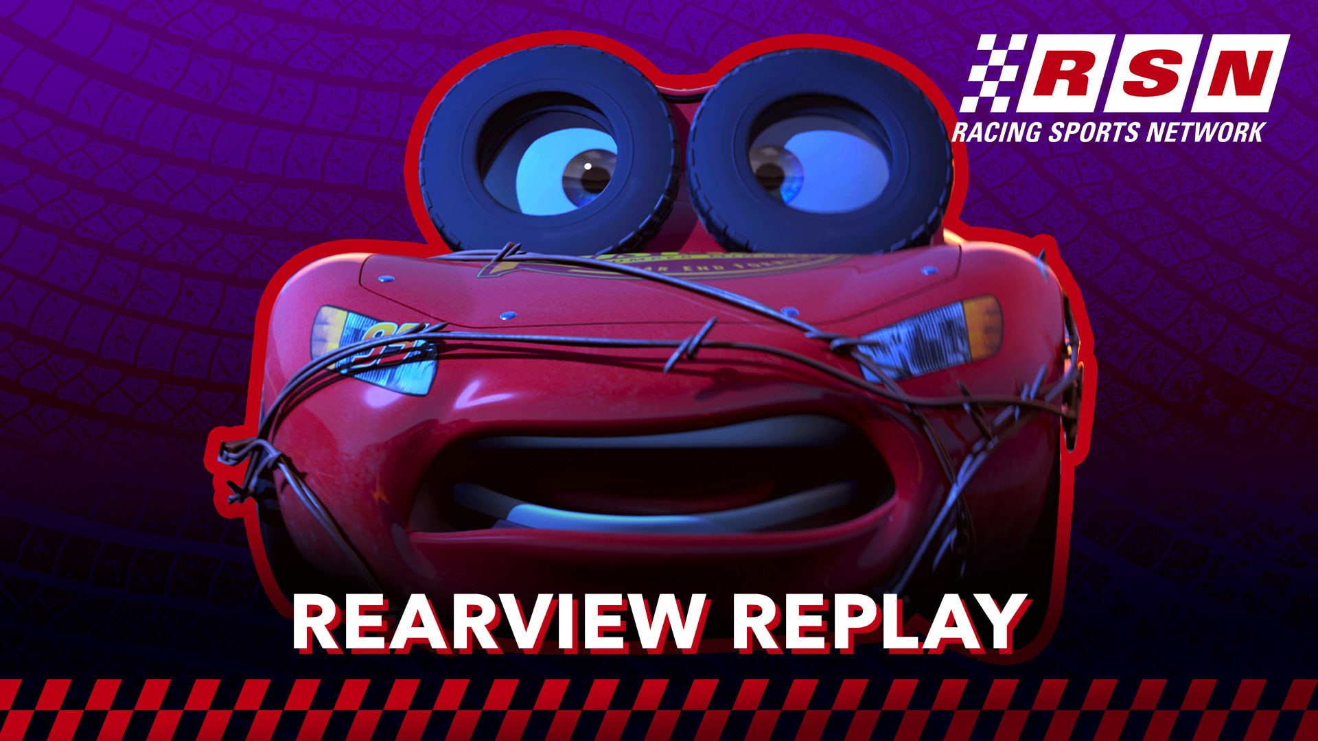 Rearview Replay: Radiator Springs Crash | Racing Sports Network by Disney