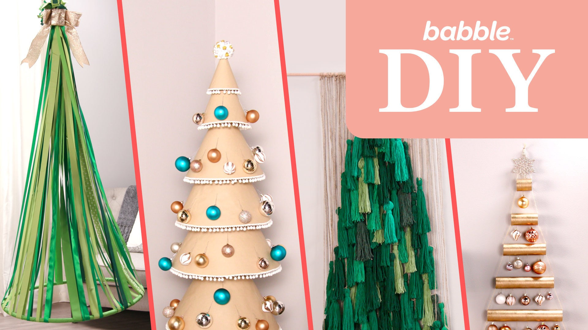 Alternative DIY Christmas Trees | Babble DIY