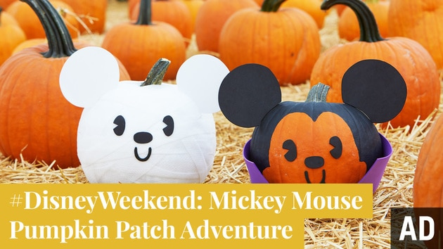 Mickey Mouse Pumpkin Patch Adventure | #DisneyWeekend by Disney Family