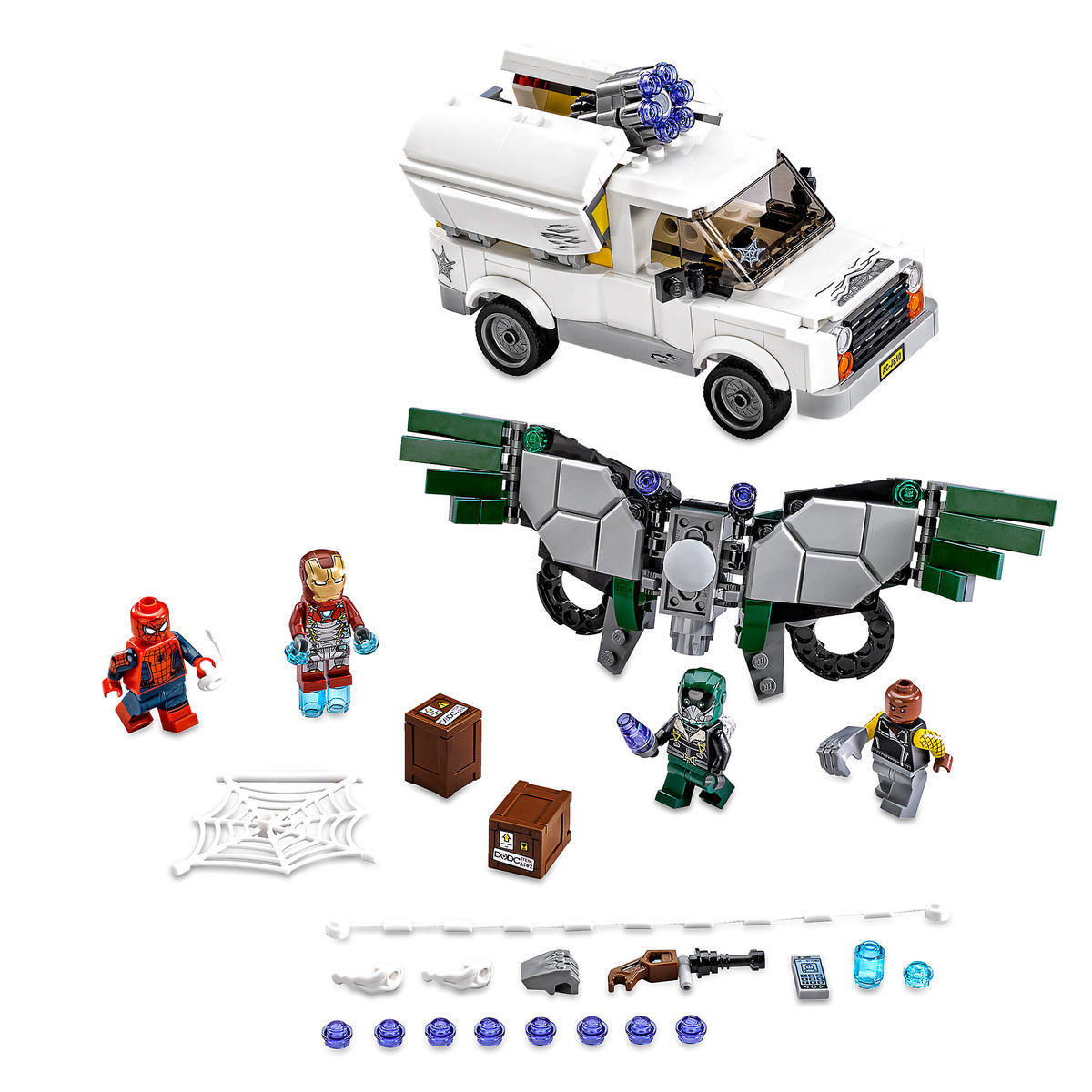 beware the vulture playset by lego spider man homecoming shopdisney