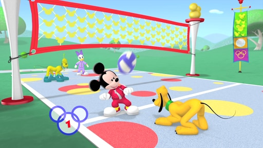 VolleyBop | Mickey's Sport-y-Thon New On DVD