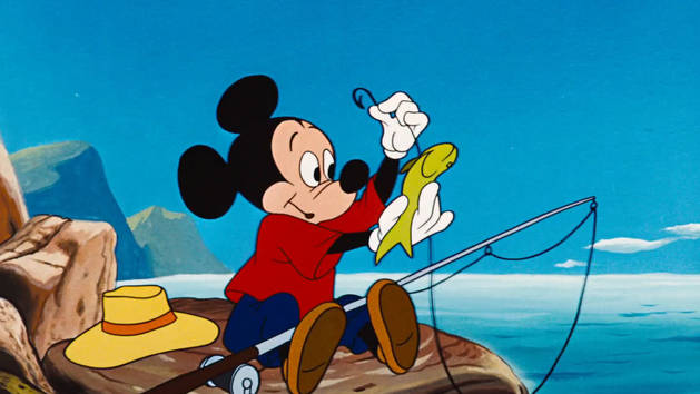 Mickey Trop drôle - Mickey à la plage