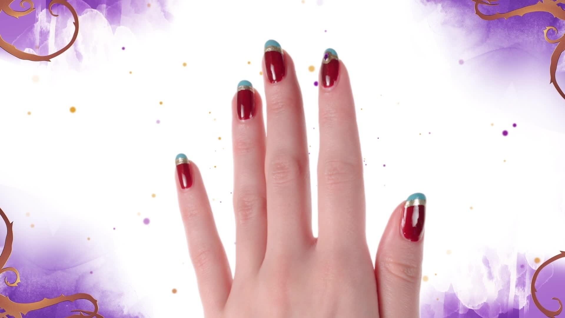 Nail Art - Jay de Descendants