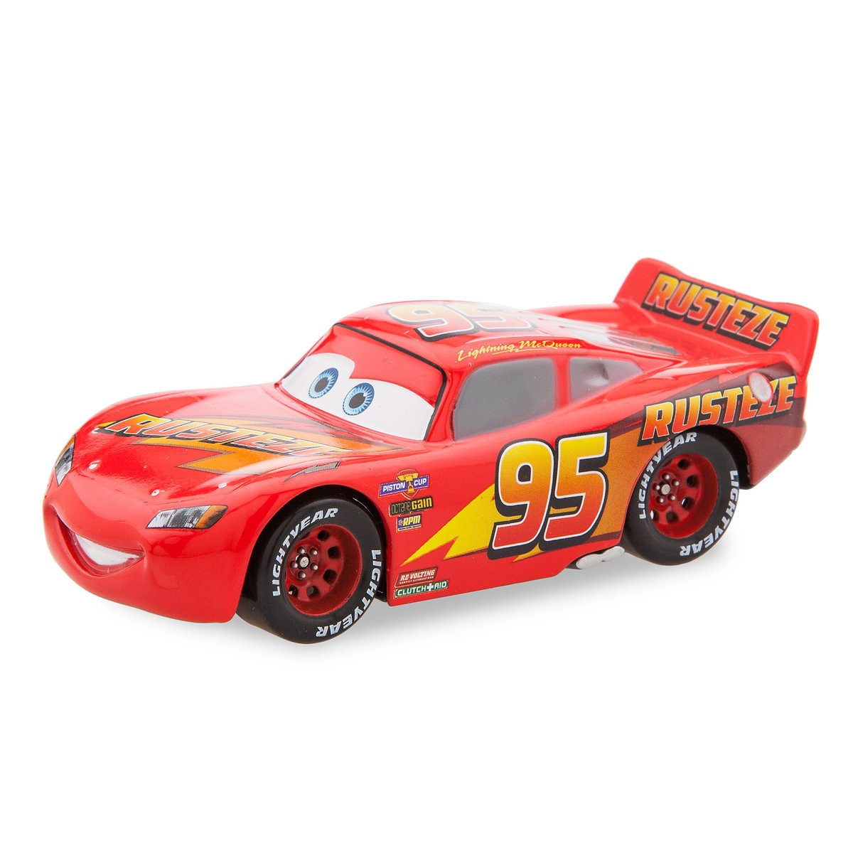 Lightning McQueen Pull \'N\' Race Die Cast Car - Cars | shopDisney