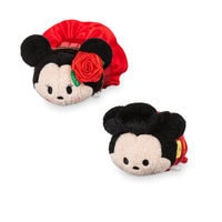 Image of Mickey and Minnie Mouse ''Tsum Tsum'' Plush Set - Mini - 3 1/2'' - Spain # 1