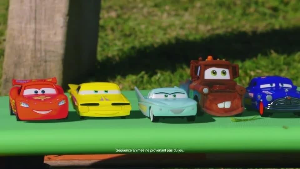 Cars Daredevil Garage - Envahit... Le jardin