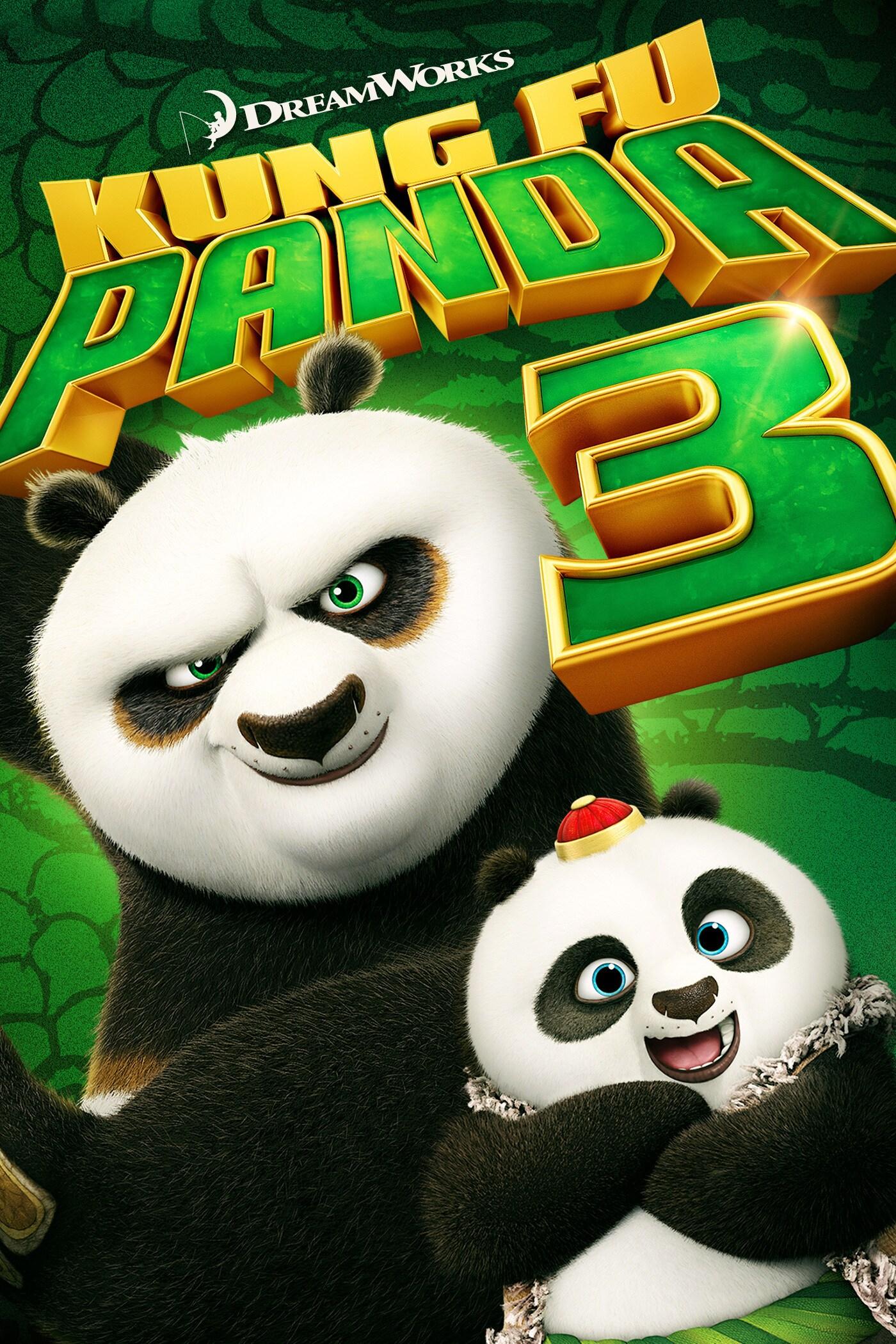 Kung Fu Panda: 3 movie poster