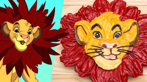The Lion King Cupcake Cake | Dishes by Disney | Disney Family