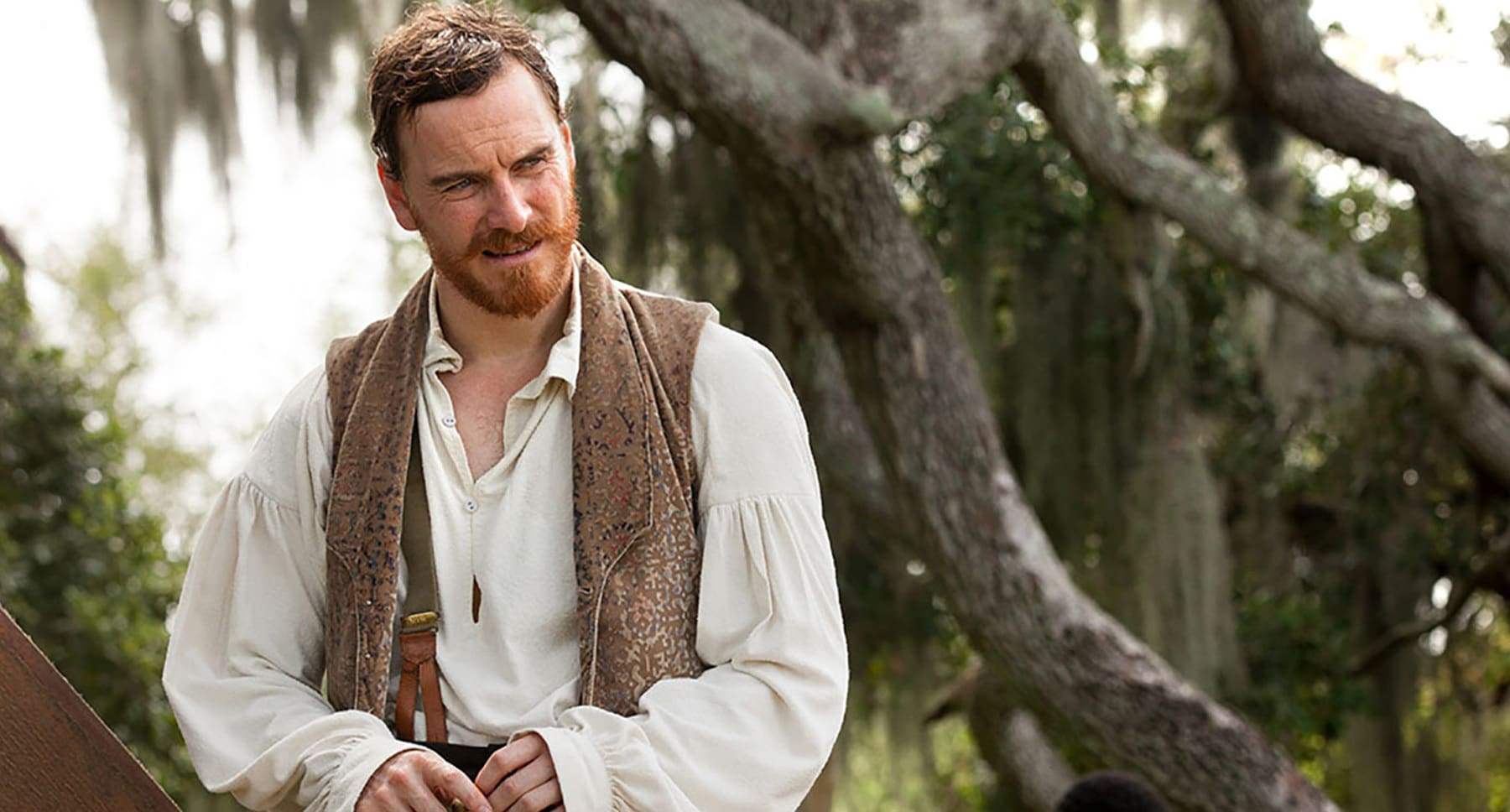 "Actor Michael Fassbender as Edwin Epps in the film ""12 Years A Slave"""