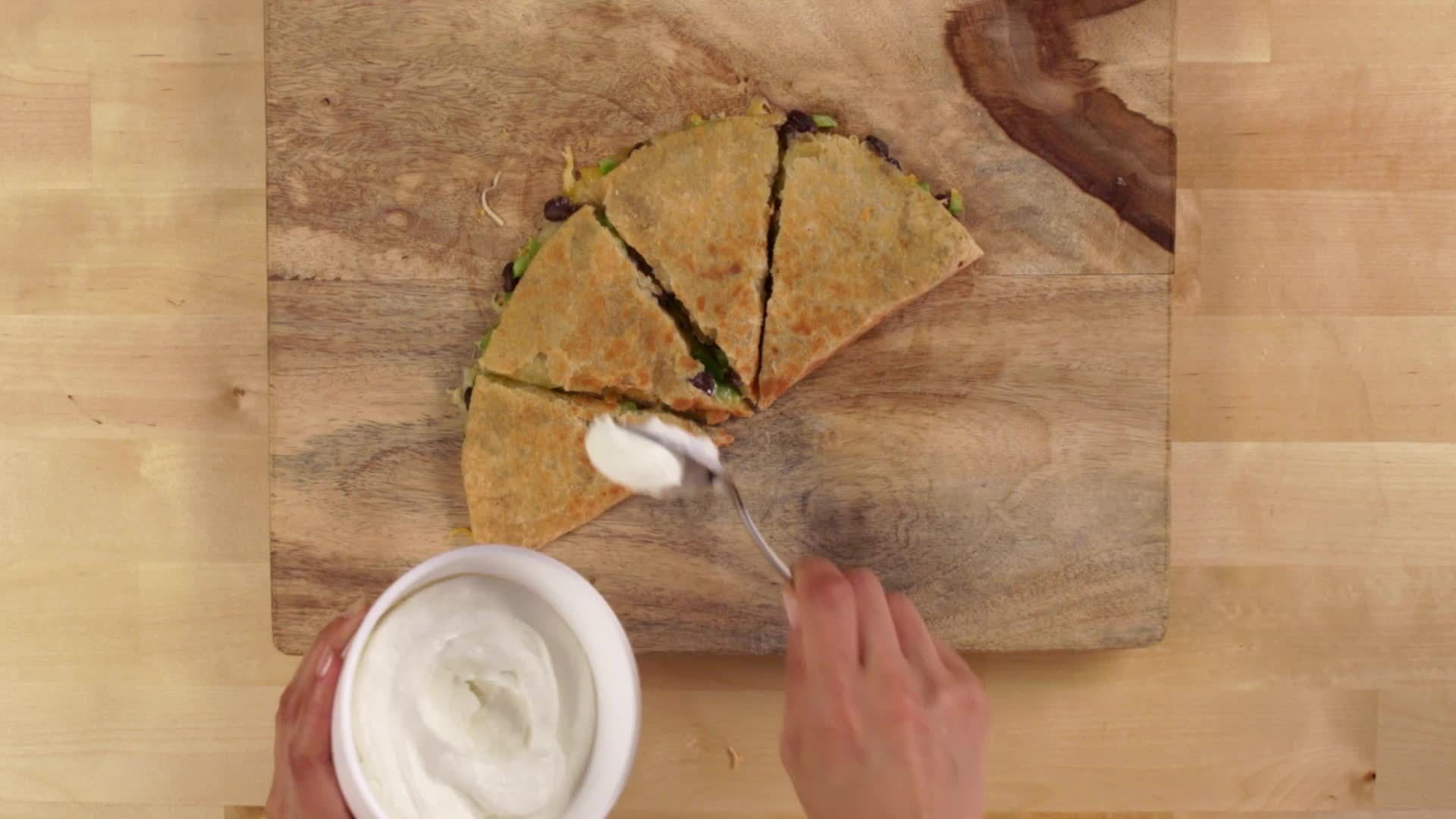 Be Your Best Snackdown- Mexican Style Quesadilla