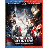 Image of Captain America: Civil War 3D Blu-ray Collector's Edition # 1