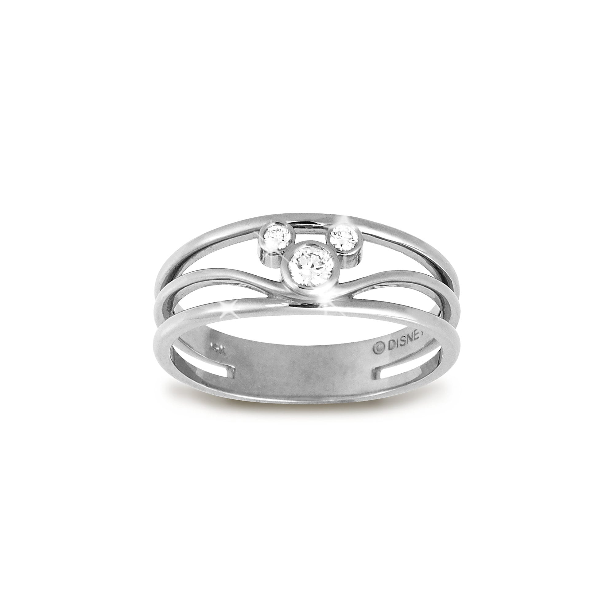 Mickey Mouse Icon Diamond Ring For Women: Minnie Mouse Wedding Ring At Websimilar.org