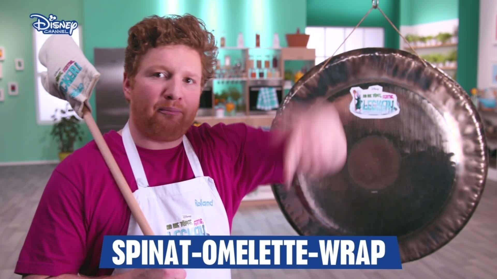 An die Töpfe, fertig, lecker! - Spinat-Omlette Rezeptvideo