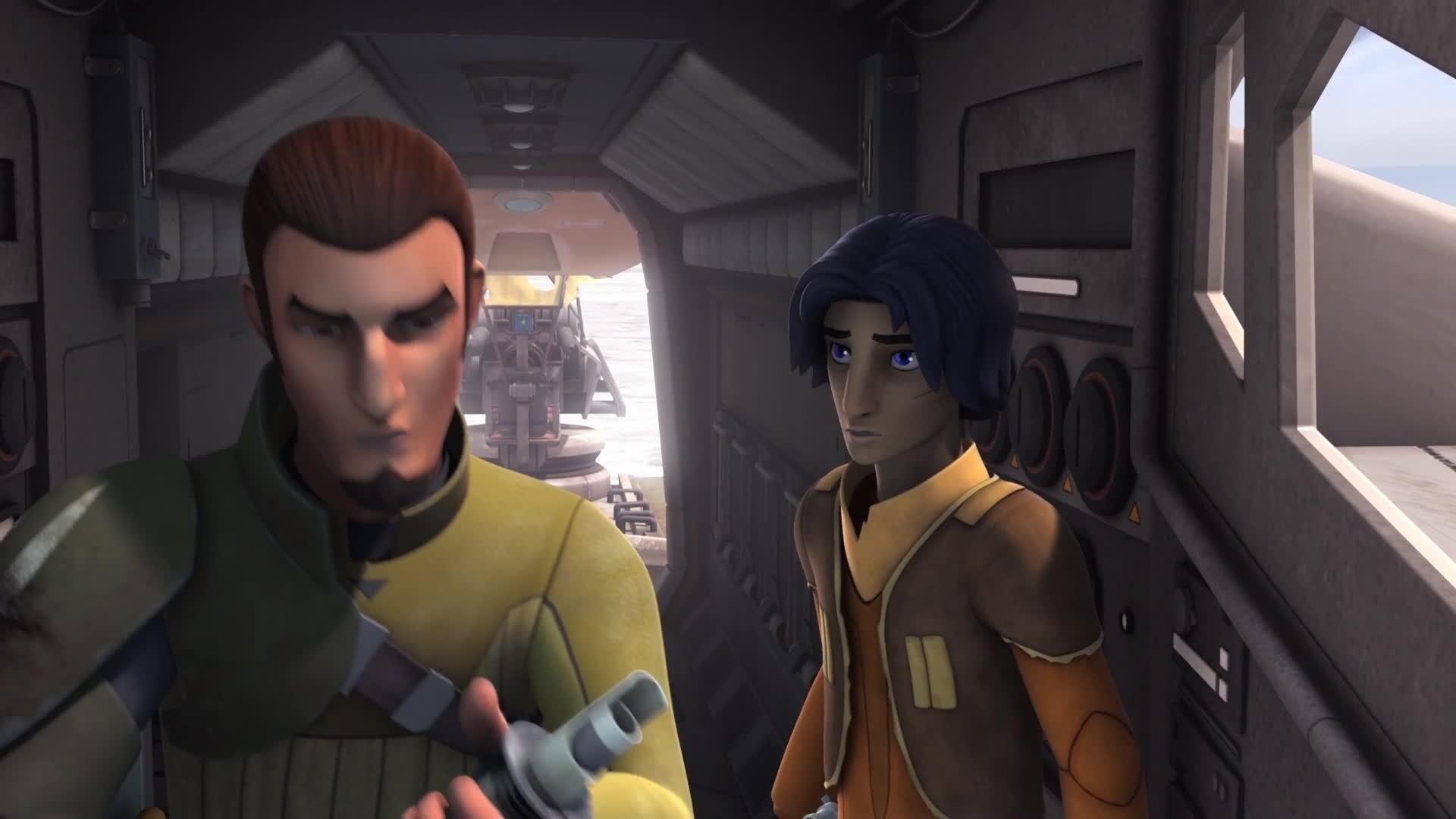 Star Wars Rebels - Saison 2 : Extrait - Kanan et Ezra