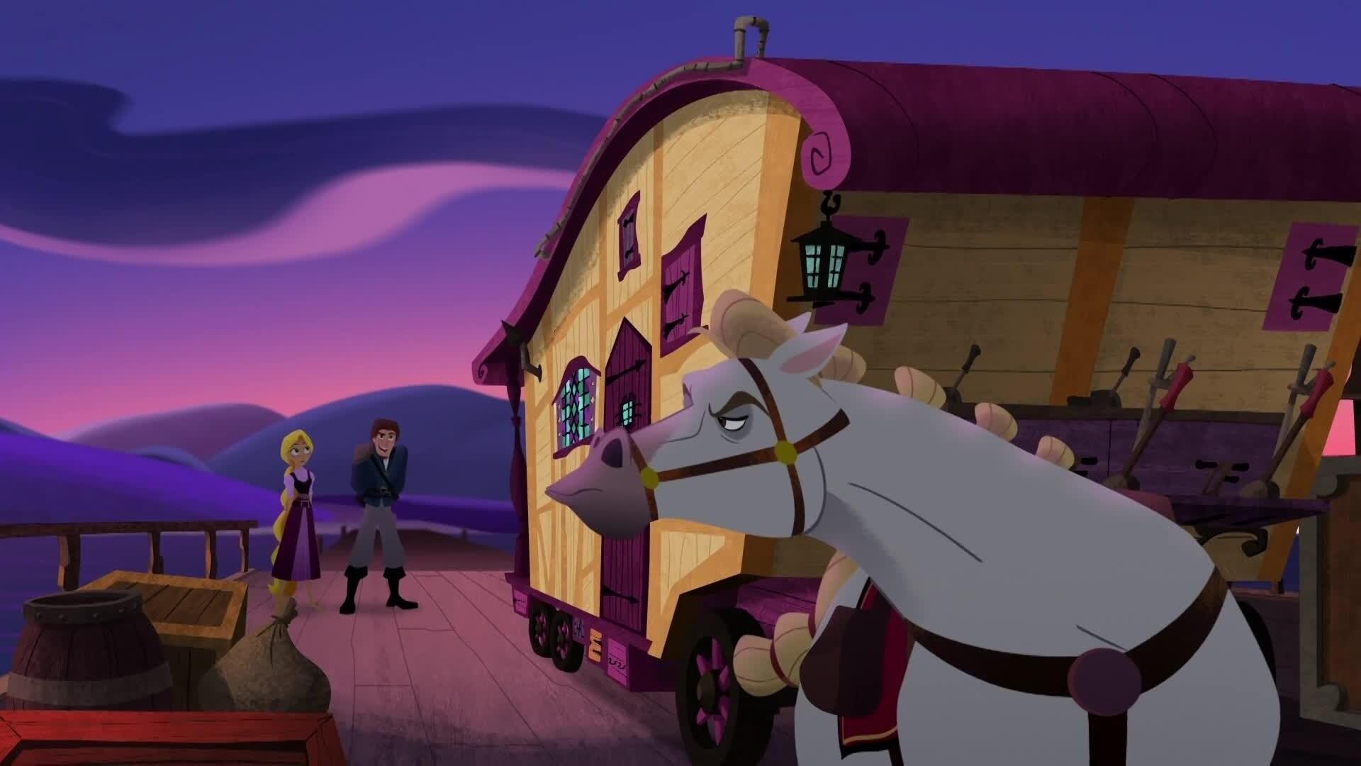 """Rapunzel - Die Serie - Max und Eugene in """"Gefahr auf hoher See"""""""
