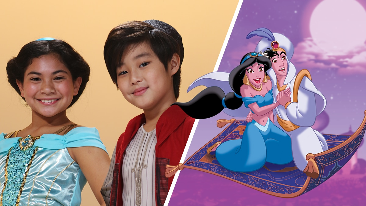 Hair Tutorials Inspired by Aladdin & Jasmine | Disney Family