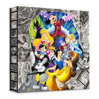 Image of ''A Colorful Mind'' Giclée on Canvas by Tim Rogerson # 1
