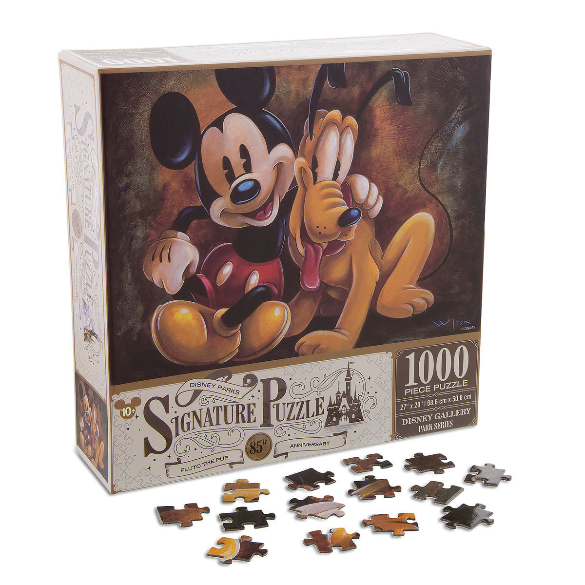 Mickey mouse and pluto pluto the pup 85th anniversary jigsaw puzzle thumbnail image of mickey mouse and pluto pluto the pup 85th anniversary jigsaw puzzle gumiabroncs Image collections