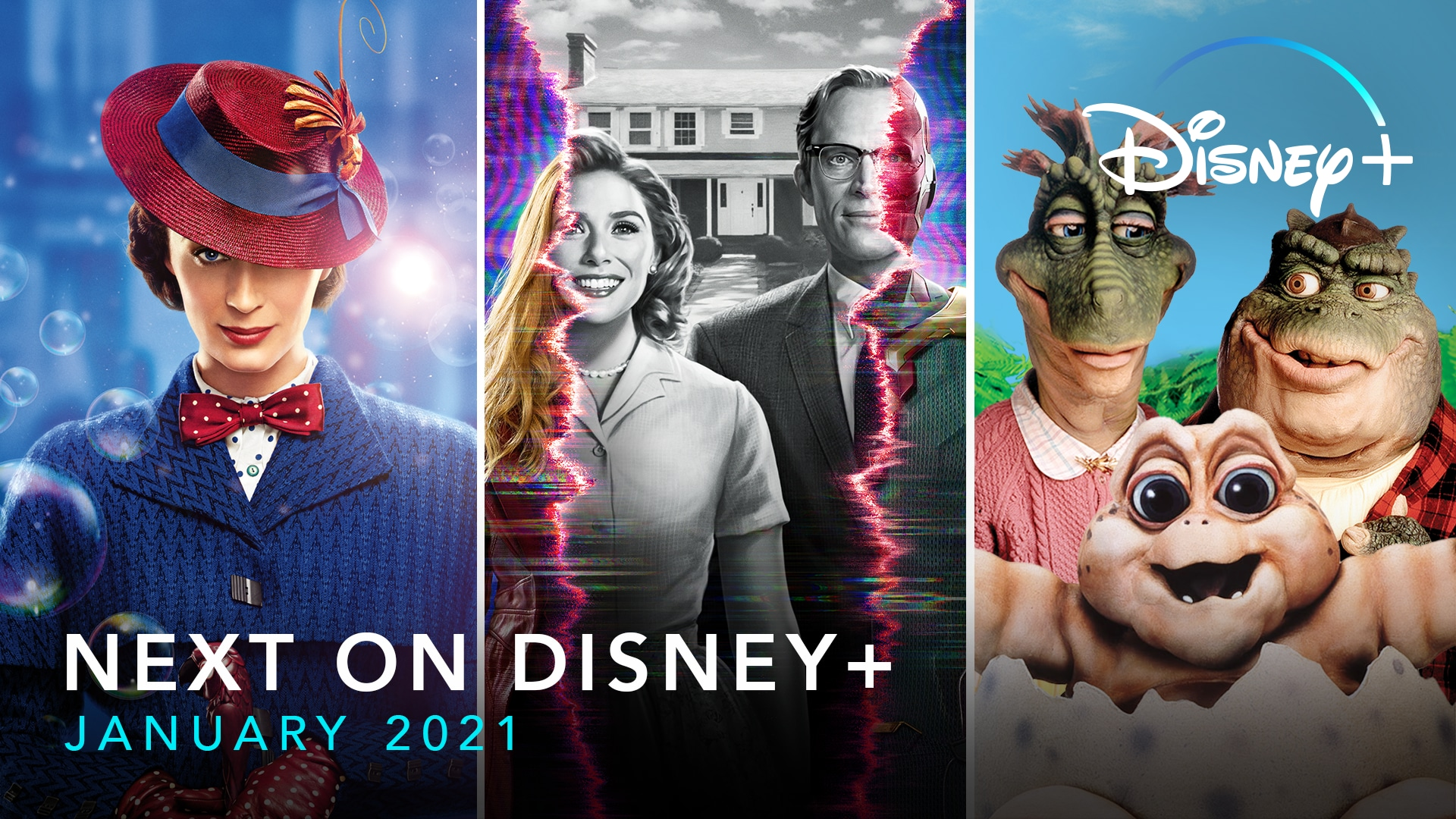 Next On Disney+ - January 2021 | Disney+ | Now Streaming