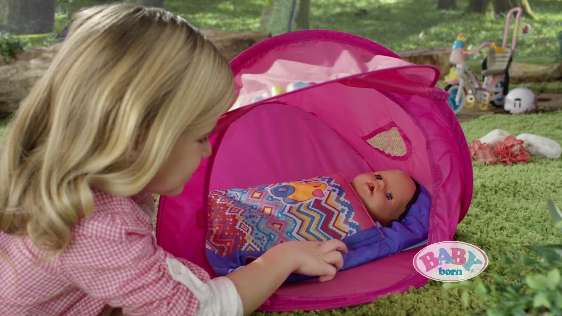 BABY born® Play&Fun Camping Set