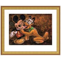 Image of ''Mickey and Pluto'' Giclée by Darren Wilson # 4