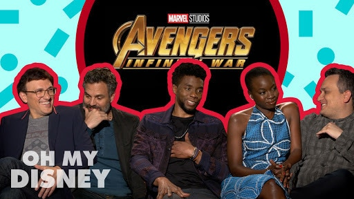 The Cast and Directors of Avengers: Infinity War on the Film | Oh My Disney Show by Oh My Disney