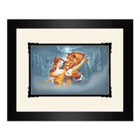 Image of Beauty and the Beast ''Evening Waltz'' Framed Deluxe Print by Noah # 1